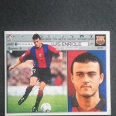 Cromos de Fútbol: LUIS ENRIQUE BARCELONA ESTE 01 02 . Lote 115344483