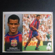 Cromos de Fútbol: RIVALDO BARCELONA ESTE 98 99. Lote 115344579
