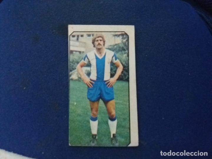 77/78 ESTE. FICHAJE 29 ESPAÑOL HUERTAS DIFÍCIL (Coleccionismo Deportivo - Álbumes y Cromos de Deportes - Cromos de Fútbol)