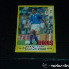 Cromos de Fútbol: PANINI LIGA 1999 2000 - 254A BORIS - R. OVIEDO - 99 00 -. Lote 115383979