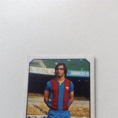 Cromos de Fútbol: EDICIONES ESTE 77 78 1977 1978 AMARILLO FUTBOL CLUB BARCELONA SIN PEGAR NUNCA PEGADO LIGA ALBUM. Lote 157136973