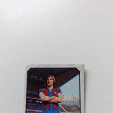 Cromos de Fútbol: EDICIONES ESTE 77 78 1977 1978 MIGUELI FUTBOL CLUB BARCELONA SIN PEGAR NUNCA PEGADO LIGA ALBUM. Lote 157137017