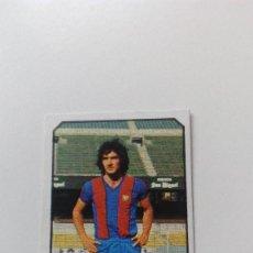 Cromos de Fútbol: EDICIONES ESTE 77 78 1977 1978 RAMOS FUTBOL CLUB BARCELONA SIN PEGAR NUNCA PEGADO LIGA ALBUM. Lote 157137001