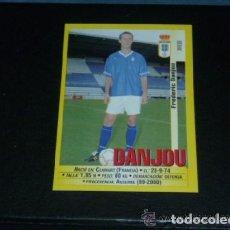Cromos de Fútbol: PANINI LIGA 1999 2000 - 250A DANJOU - R. OVIEDO - 99 00 -. Lote 115403903