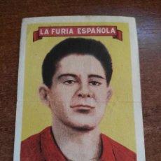 Cromos de Fútbol: CROMO LA FURIA ESPAÑOLA GONZALO AÑOS 50 . Lote 115479879