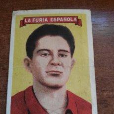 Cromos de Fútbol: CROMO LA FURIA ESPAÑOLA GONZALO AÑOS 50 . Lote 115479927