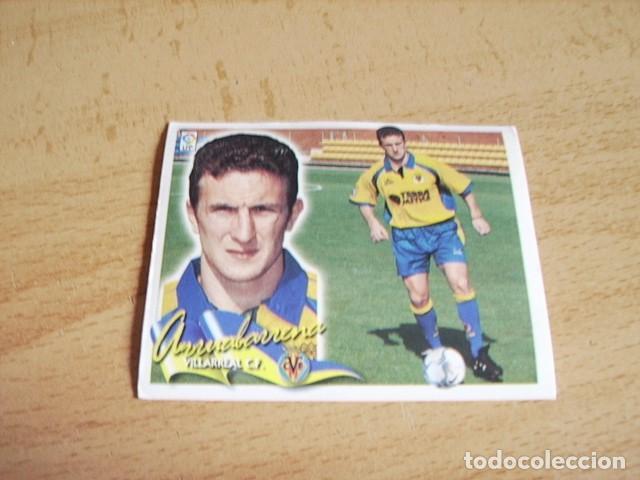 ESTE 00-01 COLOCA ARRUABARRENA ( VILLARREAL ) SIN PEGAR (Coleccionismo Deportivo - Álbumes y Cromos de Deportes - Cromos de Fútbol)