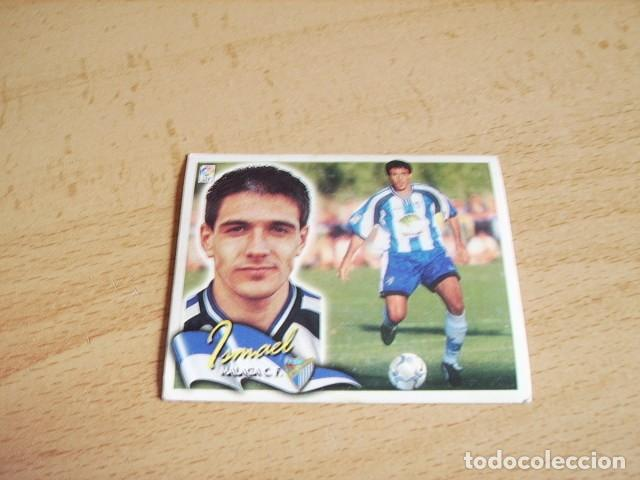 ESTE 00-01 COLOCA ISMAEL ( MALAGA ) SIN PEGAR (Coleccionismo Deportivo - Álbumes y Cromos de Deportes - Cromos de Fútbol)