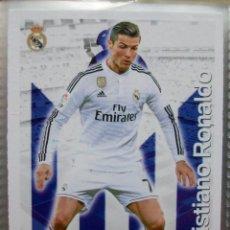 Cromos de Fútbol: 46 CRISTIANO RONALDO REAL MADRID FICHA MUNDICROMO 2015 2016 15 16. Lote 222130516