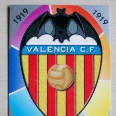 Figurine di Calcio: 190 ESCUDO VALENCIA CF MUNDICROMO 1997 1998 97 98. Lote 115738275
