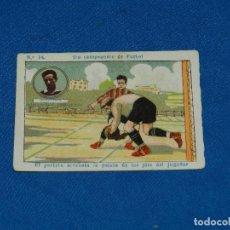 Cromos de Fútbol: CROMO UNION DE IRUN - JUGADOR ECHEVESTE NUM 14 UN CAMPEONATO DE FUTBOL. Lote 116086951