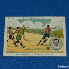 Cromos de Fútbol: SPORTIN DE GIJON - MEANA NUM 13 UN CAMPEONATO DE FUTBOL, CHOCOLATE AMATLLER. Lote 116087599