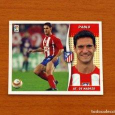 Cromos de Fútbol: ATLÉTICO MADRID - PABLO - LIGA 2006-2007, 06-07 - EDICIONES ESTE - NUNCA PEGADO. Lote 222665618
