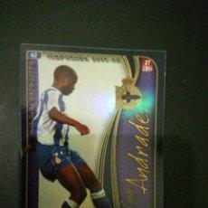 Cromos de Fútbol: FICHAS LIGA 2004-2005 MUNDICROMO- Nº 62 JORGE ANDRADE VERSION AS RC DEPORTIVO. Lote 116176158