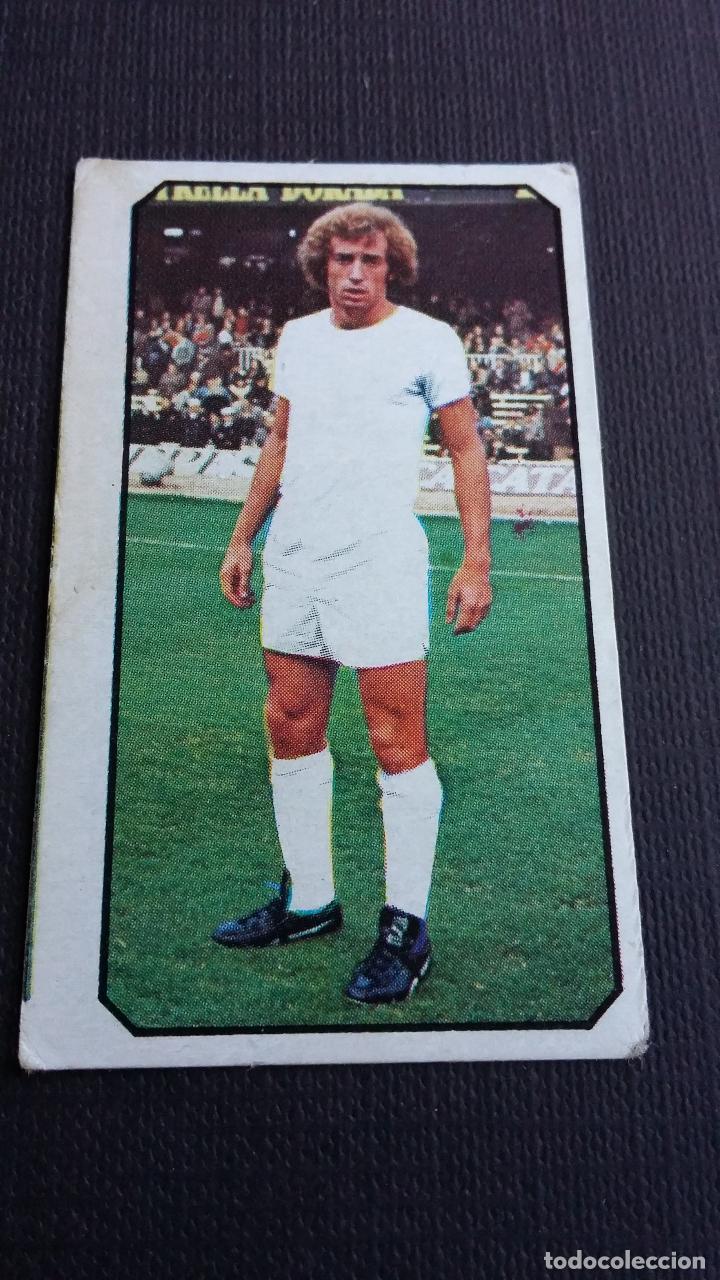EDICIONES ESTE 77 78 1977 1978 - FICHAJE 15 WOLF - REAL MADRID ( NUNCA PEGADO ) (Coleccionismo Deportivo - Álbumes y Cromos de Deportes - Cromos de Fútbol)