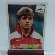 Cromos de Fútbol: CROMO PANINI FRANCE 98 DEL ALBUM DE DANONE ( THOMAS HELVEG ) DANMARK NUEVO SIN PEGAR. Lote 116384631