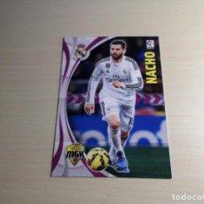 Cromos de Fútbol: MEGACRACKS 2015 2016 15 16 PANINI. NACHO Nº 334 (REAL REAL MADRID) CROMO LIGA FÚTBOL MEGA CRACKS MGK. Lote 155712432