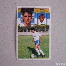Fußball-Sticker - ESTE 90-91 PABLO ZARAGOZA 1990-1991 NUNCA PEGADO - 116748959