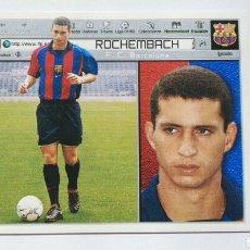 Cromos de Fútbol: ESTE 2001 2002 01 02 FICHAJE 1 ROCHEMBACH FC BARCELONA. Lote 116822584