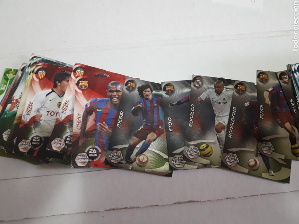 CROMOS MEGA CRACKS 2006-2007 LOTE 223 ALGUNOS ESCASOS (Coleccionismo Deportivo - Álbumes y Cromos de Deportes - Cromos de Fútbol)