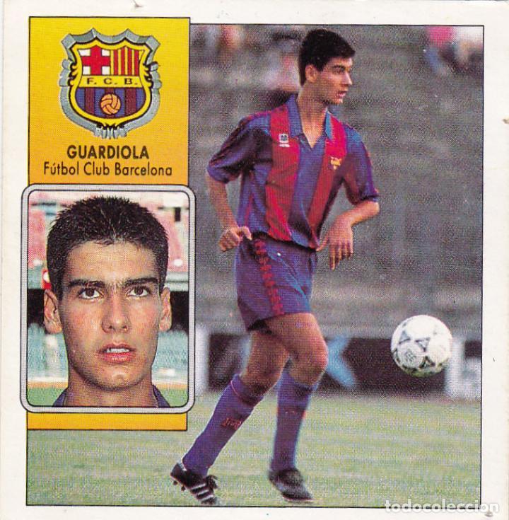 ESTE 92-93 GUARDIOLA (RECUPERADO) (Coleccionismo Deportivo - Álbumes y Cromos de Deportes - Cromos de Fútbol)