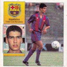 Cromos de Fútbol: ESTE 92-93 GUARDIOLA (RECUPERADO). Lote 116960031