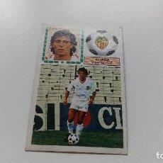 Cromos de Fútbol: EDICIONES ESTE 83 84 1983 1984 FICHAJE Nº 39 ALIAGA VALENCIA DESPEGADO LIGA ALBUM PANINI. Lote 116977451