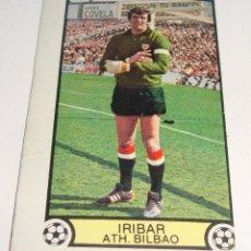 Cromos de Fútbol: (TC-121) CROMO FUTBOL LIGA 79 80 EDICIONES ESTE SIN PEGAR IRIBAR ATH. BILBAO. Lote 117084623