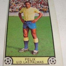Cromos de Fútbol: (TC-121) CROMO FUTBOL LIGA 79 80 EDICIONES ESTE SIN PEGAR FELIX U.D. LAS PALMAS. Lote 117084683