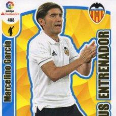 Cromos de Fútbol: ADRENALYN XL 2017 2018 - 488 - MARCELINO GARCIA - PLUS ENTRENADOR - VALENCIA C.F. - 17 18. Lote 117122487