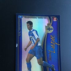 Cromos de Fútbol: FICHAS LIGA 2004-2005 MUNDICROMO- Nº 77 LUQUE VERSION AS RC DEPORTIVO. Lote 117136960