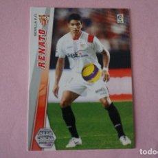 Cromos de Fútbol: CROMO CARD DE FÚTBOL RENATO DEL SEVILLA F.C. Nº 281 LIGA MEGACRACKS 2008-2009/08-09. Lote 117155759