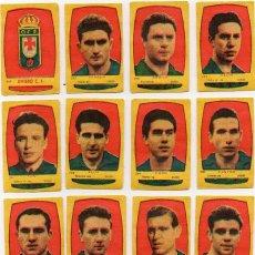 Cromos de Fútbol: OVIEDO, DE PRODUCTOS MARI - SOL,1954-55 DE NOVELDA ALICANTE. Lote 117303855