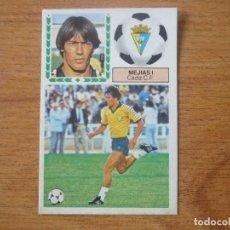 Cromos de Fútbol: CROMO LIGA ESTE 83 84 MEJIAS I (CADIZ) VERSION MEYBA - DESPEGADO - 1983 1984 . Lote 117356947