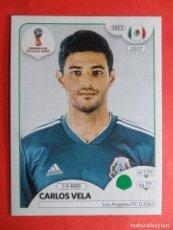 469 Panini WORLD CUP 2018 Rusia-Carlos Vela México no