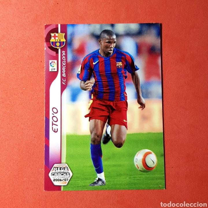 CROMO MEGA CRACKS 2006/07 - (FC BARCELONA) N°ETO'O (Coleccionismo Deportivo - Álbumes y Cromos de Deportes - Cromos de Fútbol)