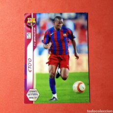 Cromos de Fútbol: CROMO MEGA CRACKS 2006/07 - (FC BARCELONA) N°ETO'O. Lote 117437430