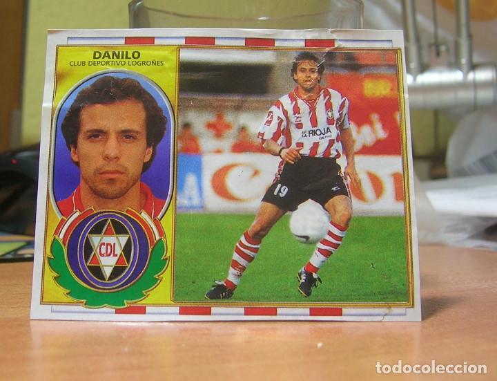 EDICIONES ESTE 1996-1997 96 97 FICHAJE Nº 6 BIS DANILO (LOGROÑES) RECORTADO LEER (Coleccionismo Deportivo - Álbumes y Cromos de Deportes - Cromos de Fútbol)