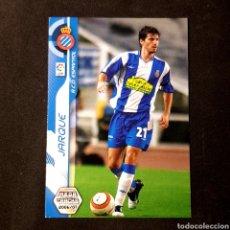 Cromos de Fútbol: CROMO MEGA CRACKS 2006/07 - (ESPANYOL) - N°114 JARQUE. Lote 117591679