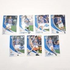 Cromos de Fútbol: LOTE 7 CROMOS MEGA CRACKS 2007/08 - (RECREATIVO). Lote 117664447