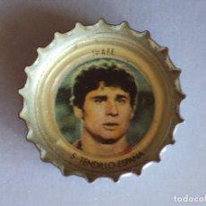 Cromos de Fútbol: CUADRO DE HONOR COCA COLA MUNDIAL FÚTBOL ESPAÑA 1982. Nº 5 TENDILLO. ESPAÑA. CROMO CHAPA. CHAPAS.. Lote 118034319