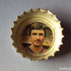 Cromos de Fútbol: CUADRO DE HONOR COCA COLA MUNDIAL FÚTBOL ESPAÑA 1982. Nº 37 KRANKL. AUSTRIA. CROMO CHAPA. CHAPAS. Lote 118034787