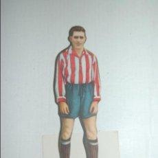 Cromos de Fútbol: CROMO TROQUELADO DE 1944 DE AS (EDITORIAL BRUGUERA) CORNIGON DEL GIJON. Lote 118071739