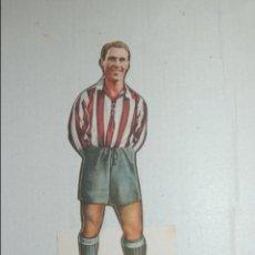 Cromos de Fútbol: CROMO TROQUELADO DE 1944 DE AS (EDITORIAL BRUGUERA) MAS DEL GRANADA. Lote 118072407