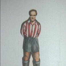 Cromos de Fútbol: CROMO TROQUELADO DE 1944 DE AS (EDITORIAL BRUGUERA) MARIN DEL GRANADA. Lote 118072427