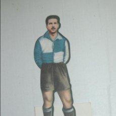 Cromos de Fútbol: CROMO TROQUELADO DE 1944 DE AS (EDITORIAL BRUGUERA) MONTSERRAT DEL C.D. SABADELL. Lote 118072519