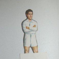 Cromos de Fútbol: CROMO TROQUELADO DE 1944 DE AS (EDITORIAL BRUGUERA) HUETE DEL REAL MADRID. Lote 118077279