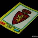 Cromos de Fútbol: ESCUDO FÚTBOL Nº 7 REAL ZARAGOZA, LOS GRANDES EQUIPOS DE EUROPA, CRECS CROPAN, ORIGINAL AÑOS 70. Lote 118110011