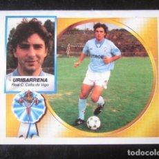 Cromos de Fútbol: URIBARRENA COLOCA CELTA DE VIGO EDICIONES ESTE 94 95 1994 1995 CROMO RECUPERADO VENTANILLA . Lote 118110727