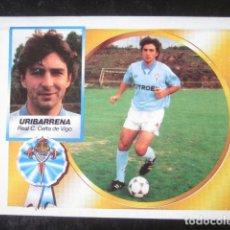 Cromos de Fútbol: URIBARRENA COLOCA CELTA DE VIGO EDICIONES ESTE 94 95 1994 1995 CROMO RECUPERADO VENTANILLA . Lote 118110771